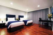 The Premier Suites comes in two configurations, one with a king size bed and one with twin beds